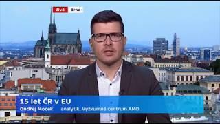 Českých patnáct let v EU