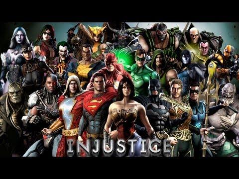 Кто есть кто в Injustice: Gods Among Us (файтинг от создателей Mortal Kombat)