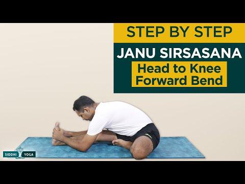 Janu Sirsasana (Head-to-Knee Forward Bend)
