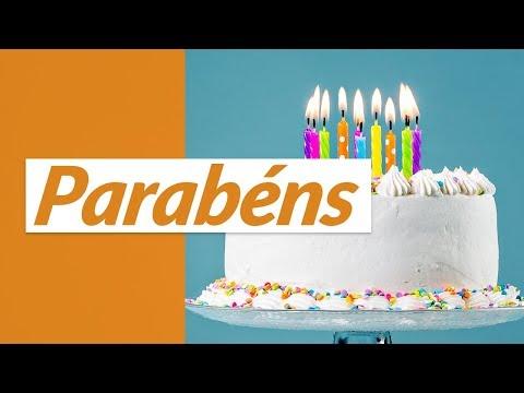 Msg de aniversário - Parabéns!  (Mensagem de Aniversário)