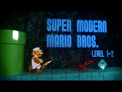 Super Mario Bros With Modern Day Sound  Visual