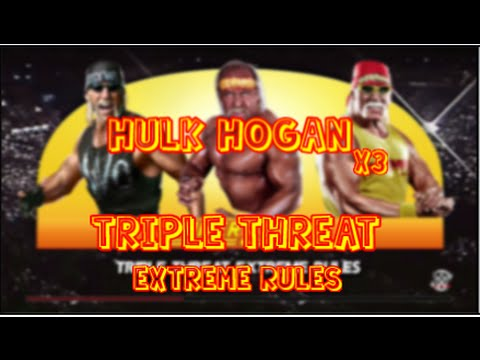 WWE 2K15 | Hulk Hogan vs Hulk Hogan vs Hulk Hogan