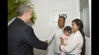 «Colombianos que pagan arriendo se podrán convertir en propietarios»: Presidente Duque