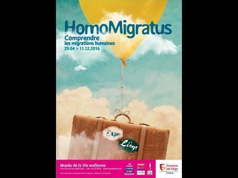 """Expo """"HomoMigratus, comprendre les migrations humaines"""""""