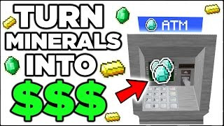 Bank stuff in Minecraft (ATM, Lasers, & Security Cameras)