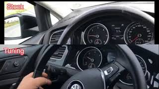 Volksvage Golf Mk7 1.6tdi 105hp dsg chiptuned