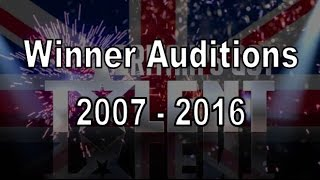 Video Winner of Britain's Got Talent Auditions Compilation 2007 - 2016 MP3, 3GP, MP4, WEBM, AVI, FLV Desember 2018
