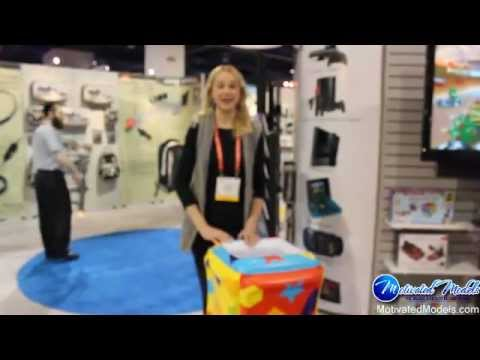 Motivated Models – Christie – Trade Show Hostess and Technology Product Specialist