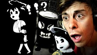 they DO NOT like ALICE ANGEL!! | BATIM Bendy in Nightmare Run (Full Game)