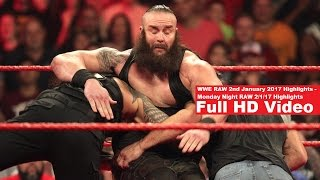 Nonton WWE RAW 2nd January 2017 Highlights - Monday Night RAW 2/1/17 Highlights Film Subtitle Indonesia Streaming Movie Download