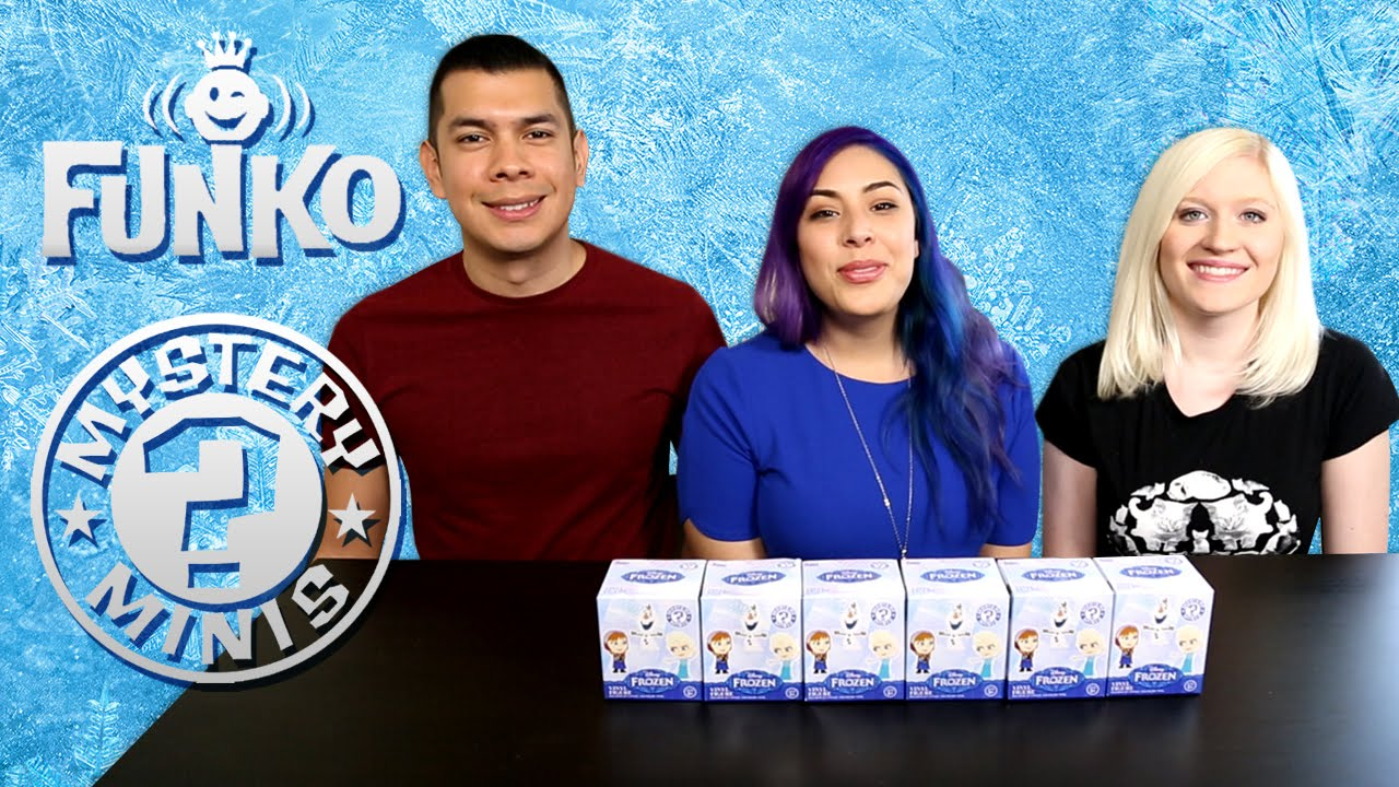 Funko FROZEN Mystery Minis Blind Boxes! Part 2