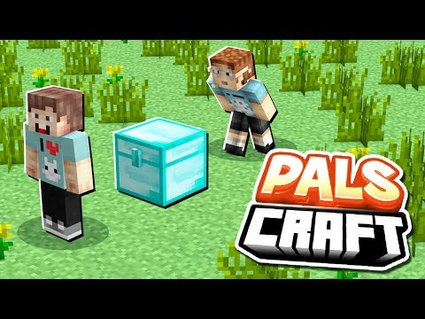 STEALING DENIS' SECRET DIAMOND CHEST | PalsCraft #8