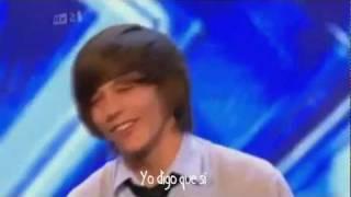 Audición de Louis Tomlinson en The X Factor (Traducida)