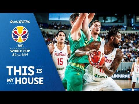 Australia v Philippines - Highlights - FIBA Basketball World Cup 2019 - Asian Qualifiers (видео)