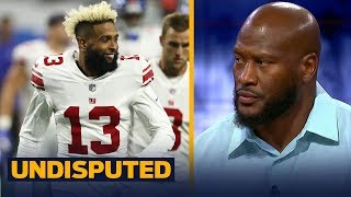 James Harrison on Odell Beckham Jr.'s contract extension with the New York Giants   NFL   UNDISPUTED