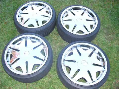 im sellin my rims Tire Size- 225/35/20 Universal 5lug Good Condition Already