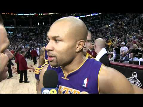 Derek Fisher's Game Winning Buzzer Beater vs. Clippers
