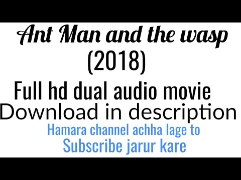 Ant Man And The Wasp (2018) Full Hd Dual Audio Download In Description