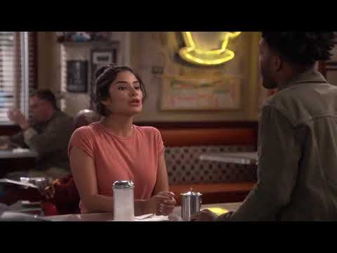 "Second sneak peak of Diane Guerrero on Superior Donuts S02E01 ""What the truck?"""
