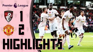 Download Video Highlights | Bournemouth 1-2 Manchester United | Rashford wins it in stoppage time! MP3 3GP MP4
