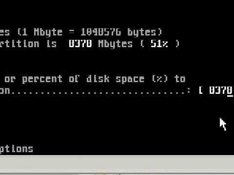 Fdisk DOS Partition Tutorial