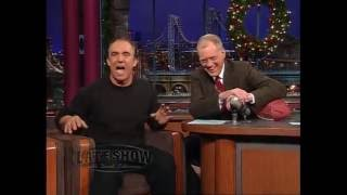 Jay Thomas on the Late Show with David Letterman #15a