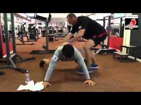 【ブレない体幹を作れ!】サンウルブズのトレーニング