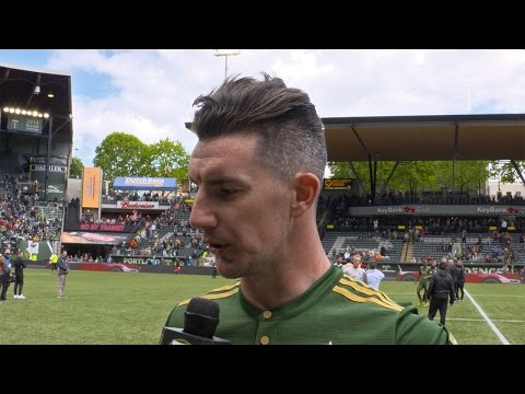 Video: Liam Ridgewell | Timbers 1, Atlanta 1 | Postgame - May 14, 2017