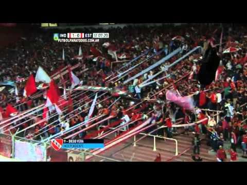 Gol de Vera. Independiente 1 – Estudiantes 0. Fecha 22. Primera División 2015