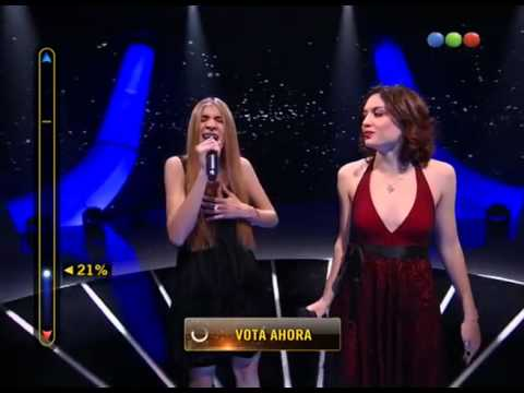 Candelaria Buasso y Victoria Bernardi – Set Fire To The Rain #Elegidos