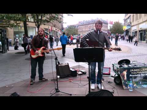 Champagne Supernova, Oasis Cover, Busking In Sheff