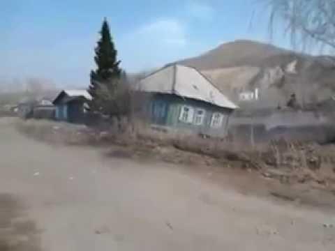 Дом  провалился в воронку глубиной 110 метров в Риддере (Усть-Каменогорск) Восточном Казахстане - DomaVideo.Ru