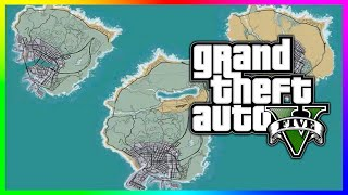 GTA 5 Online - NEW MAP UPDATE!!!! LAS VENTURAS & MORE CITIES IN GTAV?!! (Future DLC Map Expansion)