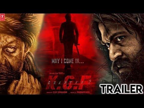 KGF CHAPTER 2 - Official Trailer   Yash   Sanjay Dutt   Srinidhi Shetty   Prashanth Neel   KGF 2