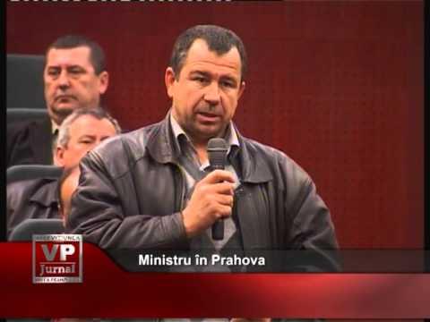 Ministru în vizită în Prahova