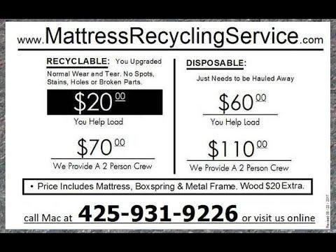 www.MattressRecyclingService.com