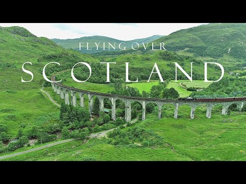 Fly Above the Emerald Beauty of Scotland