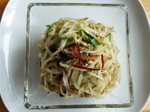 Korean Recipe: How to Make a Fresh Mungbean Sprouts Salad – Sukjunamul