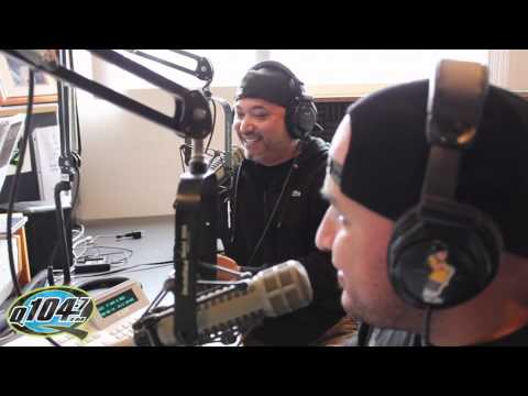 Q104.7's Rico and Mambo Interview Comedian Edwin San Juan