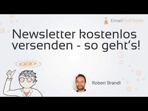 Newsletter kostenlos erstellen - so geht's