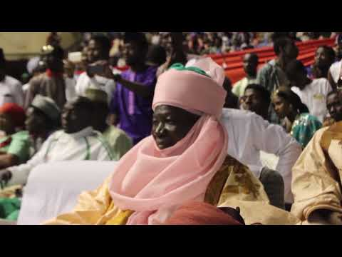 Binta Labaran (Fati Niget) GIRMA-GIRMA Official song on stage performance at Ranar Mawakan Hausa Fou