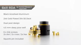 Excited about new tanks and RDAs? So are we. Here's a sneak preview of the latest gear we have in the office. ► IJOY Cigpet Eco RDA  http://vaping360.com/ijoy-cigpet-eco-rda/► Vaporesso Devil Tank  http://vaping360.com/vaporesso-veco-devil-tank/► Skill RDA by Twisted Messes and VapersMD  http://vaping360.com/skill-rda/► SMOK Spirals Plus TankFor all the latest reviews, previews, news and more, be sure to check out vaping360.comSong: Night Trip - Pop Up! [from Digital Office Four]Music provided by Business Casualhttp://businesscasual.biz/Follow us on Social media:►Facebook: https://www.facebook.com/Vaping360►Twitter: https://twitter.com/vaping360►Instagram: https://www.instagram.com/vaping360►Google+: https://plus.google.com/+vaping360►Flickr: http://www.flickr.com/photos/vaping360