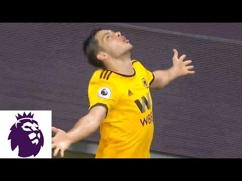 Video: Raul Jimenez brings Wolves level against Chelsea   Premier League   NBC Sports