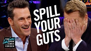 Video Spill Your Guts or Fill Your Guts w/ Jon Hamm MP3, 3GP, MP4, WEBM, AVI, FLV Agustus 2019