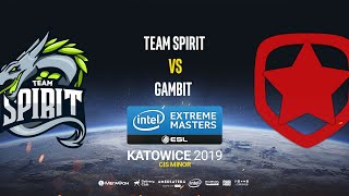 Team Spirit vs Gambit - IEM Katowice CIS Minor - map2 - de_overpass [Craggy & Pchelkin]