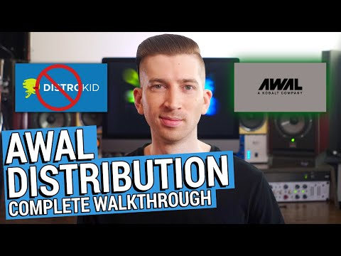 AWAL DISTRIBUTION - REVIEW & WALKTHROUGH (SWITCHED FROM DISTROKID)