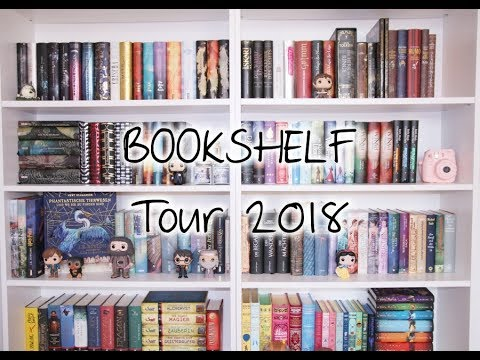 Bookshelf Tour 2018 | Mein Bücherregal Part 1 | Beauty Mango
