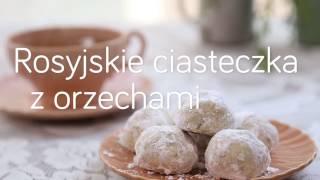 Rosyjskie ciasteczka z orzechami