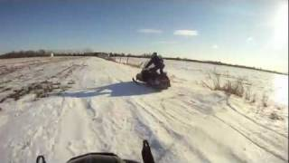 9. Arctic Cat Lynx 340 Drift Banging