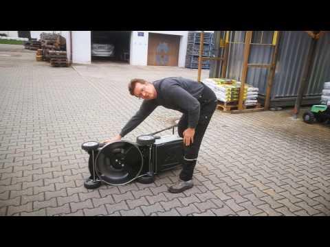 Honda Benzinrasenmäher HRG 466 SK (IZY) wie er funktioniert und was zu beachten ist